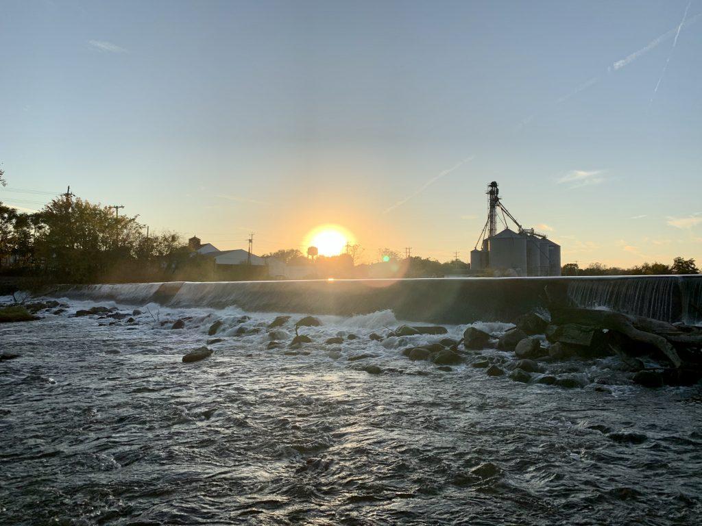 Burlington's Dam