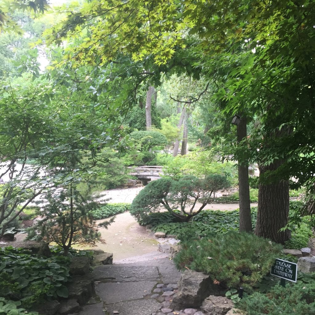 Rotary Botanical Gardens provides a peaceful and serene ambience for its visitors.