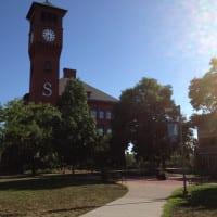 Stout Clock Tower Plaza