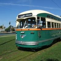 Climb aboard Kenosha's historic streetcar for a ride along Lake Michigan