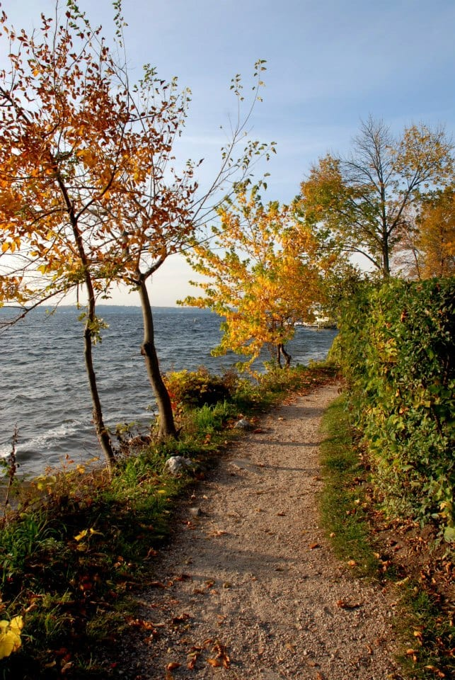 The Shore Path in Lake Geneva