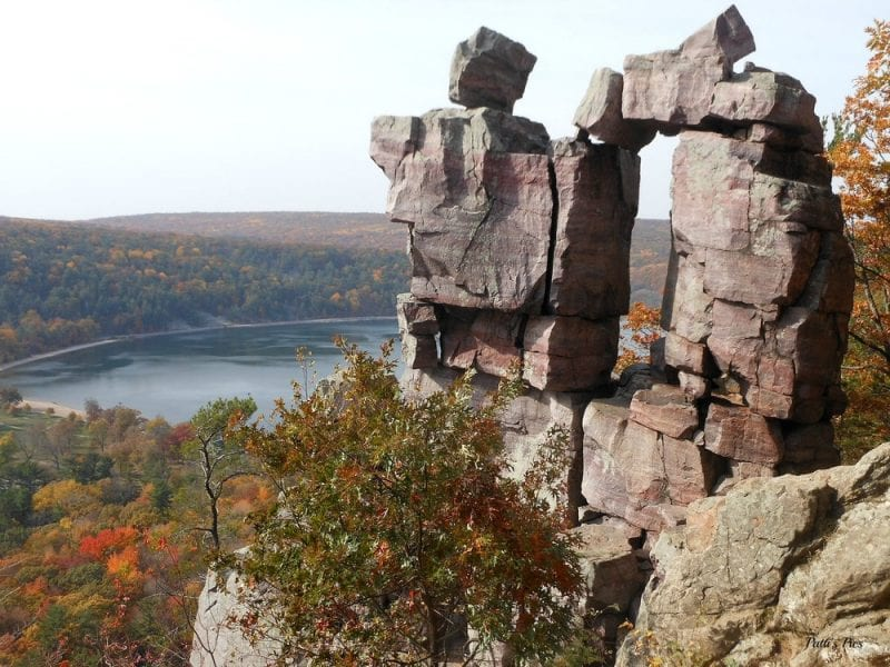 Devils Lake State Park [Photo by Patricia Warn]