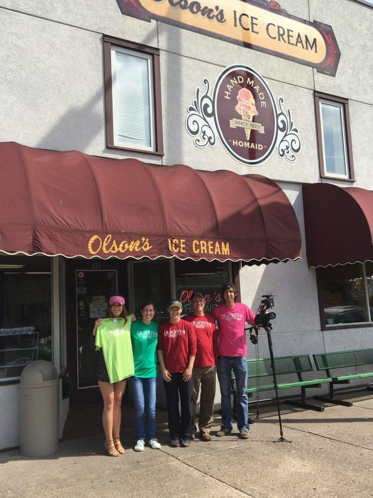 Olson's Ice Cream, Chippewa Falls