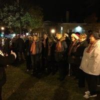 Carolers at the Burlington Christmas Parade