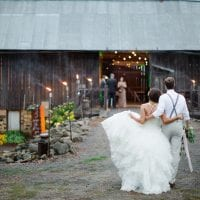 Wedding at The Enchanted Barn