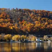 Fall colors in La Crosse | Photo by Gary Flohr
