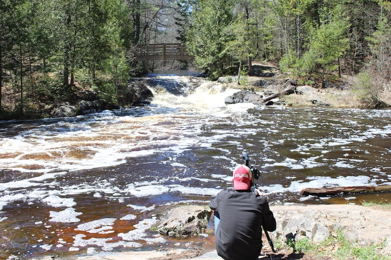 Discover Wisconsin Films at Veteran's Falls