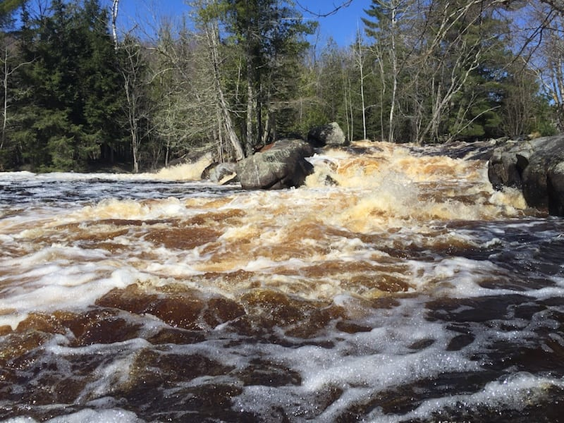 Strong Falls in Marinette County
