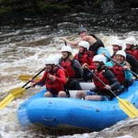 Whitewater Rafting on the Menominee River