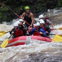 Eric Whitewater Rafting