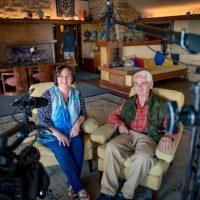Stephanie Klett with Brandoch Peters