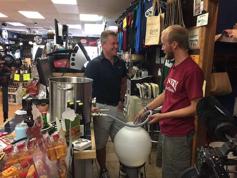 Cannery Wine & Sprits Home Brewing Class