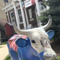 Georgia O'Keeffe Cow