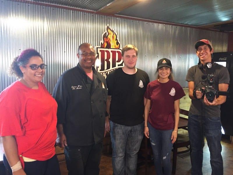 DW Crew at BP Smokehouse