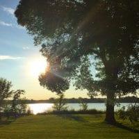 Sunset at Winnebago Park