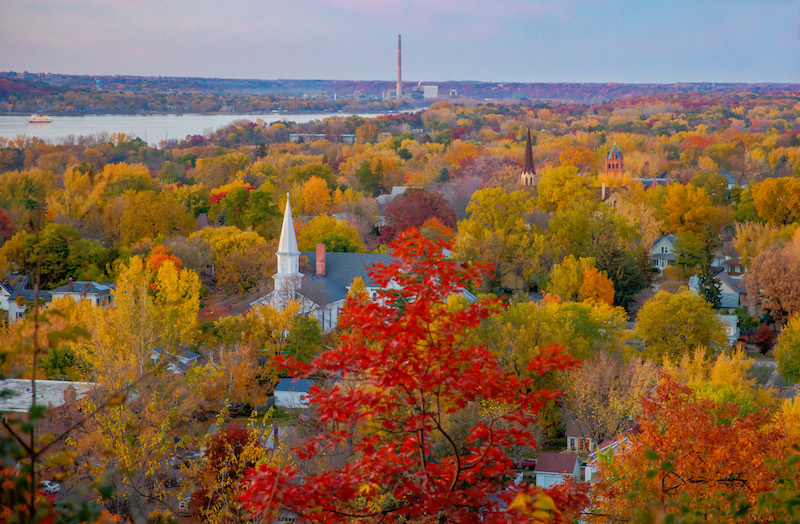 Hudson in the Fall