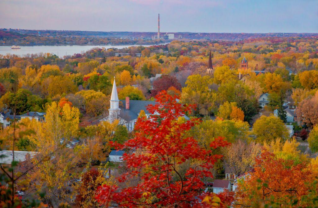 Fall Colors in Hudson