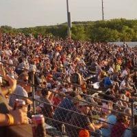 Angell Park Speedway Crowd