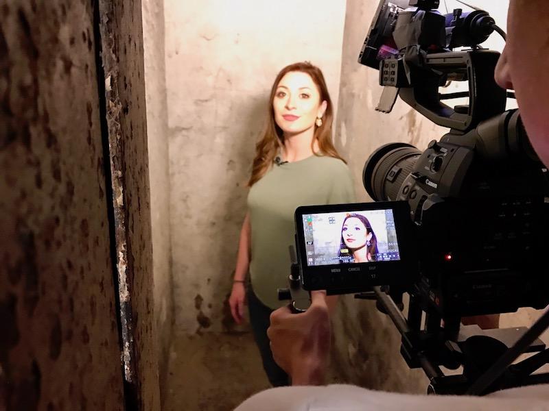 Mariah at the dungeon
