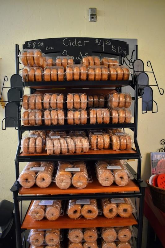 Cider Donuts at Shihata's