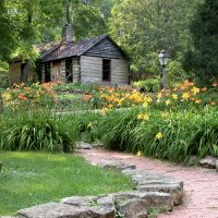 Mineral Point Log Cabin