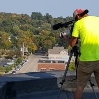 Filming from the Rooftops