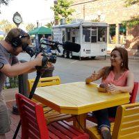 Filming the Ginseng Burger