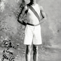 George Poage was the first black American to medal in the Olympics. He competed as the 1904 Olympics in St. Louis.
