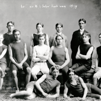 George Poage was a star athlete at La Crosse High School and later, UW-Madison.