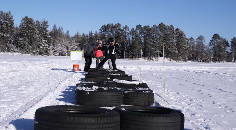 Arctic Warrior Tire Obstacle