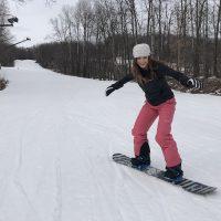 Mariah Snowboarding