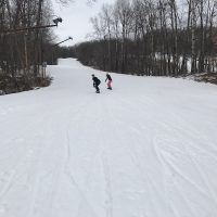 Mariah & Olivia Snowboarding
