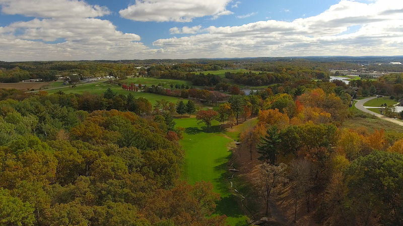 Fall Colors at Trappers Turn Golf Club