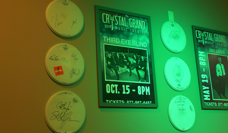 Memorabilia at The Crystal Grand