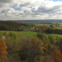 Baraboo Bluff Winery in the Fall