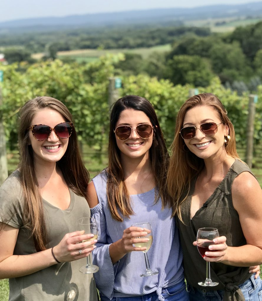 Mariah and Friends at Baraboo Bluff Winery