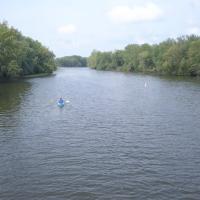Paddling, Fox River