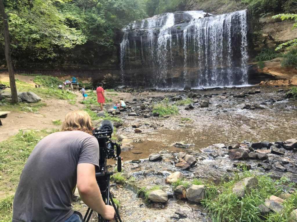 Cascade Falls, Osceola