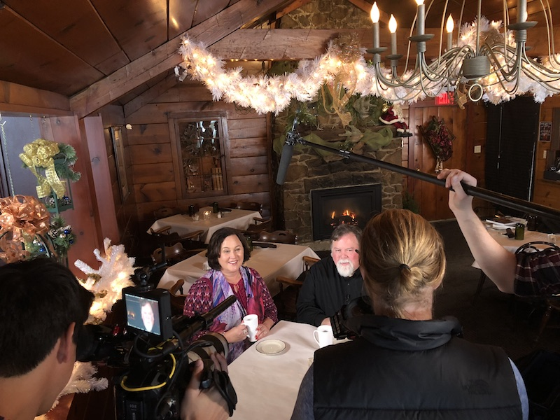 Interviewing Ron Faiola at Pinewood Supper Club