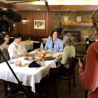 Filming at Lehman's Supper Club