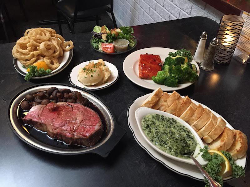 Dinner at Buckhorn Supper Club