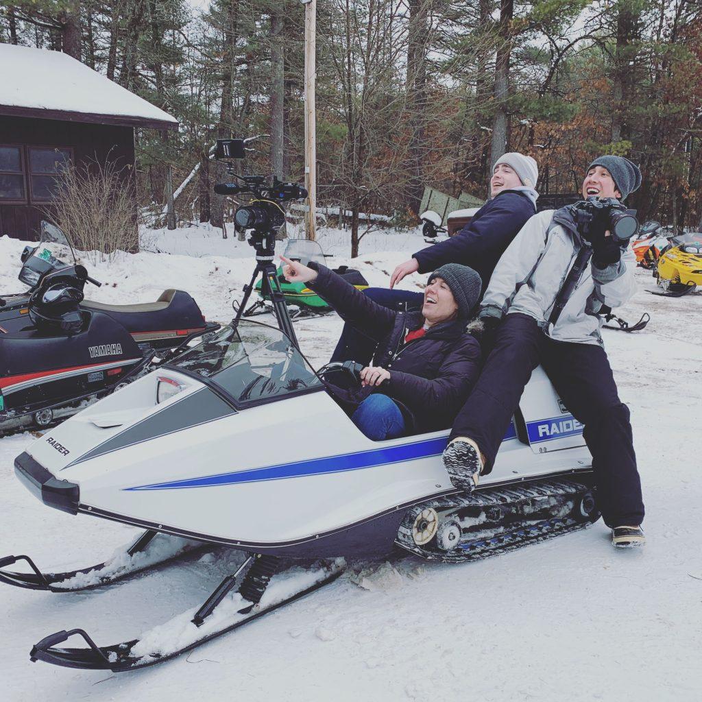Snowmobiling, Sparta