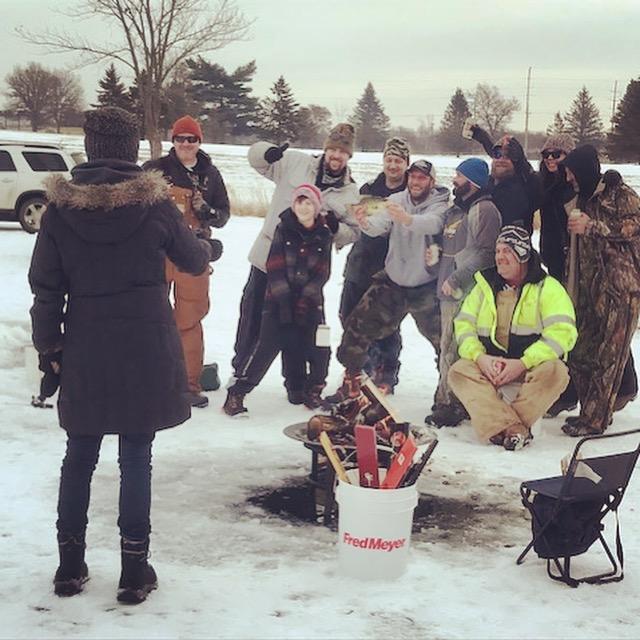 Ice Fishing, Sparta