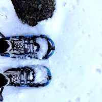 Snowshoeing in Waushara County