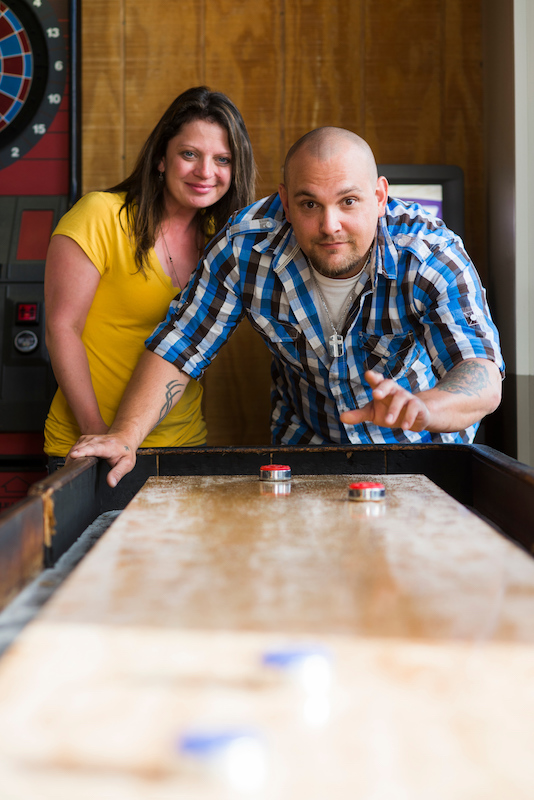 Shuffleboard at The Keg & The Patio