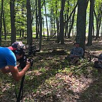 Filming Turkey Hunting in Waushara County