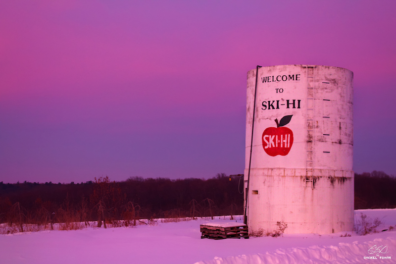 Sunset at Ski-Hi Fruit Farm by Rachel Frank