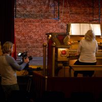 Filming the Barton Organ