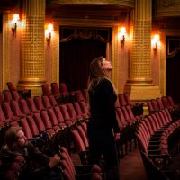 Mariah Explores the Al. Ringling Theatre