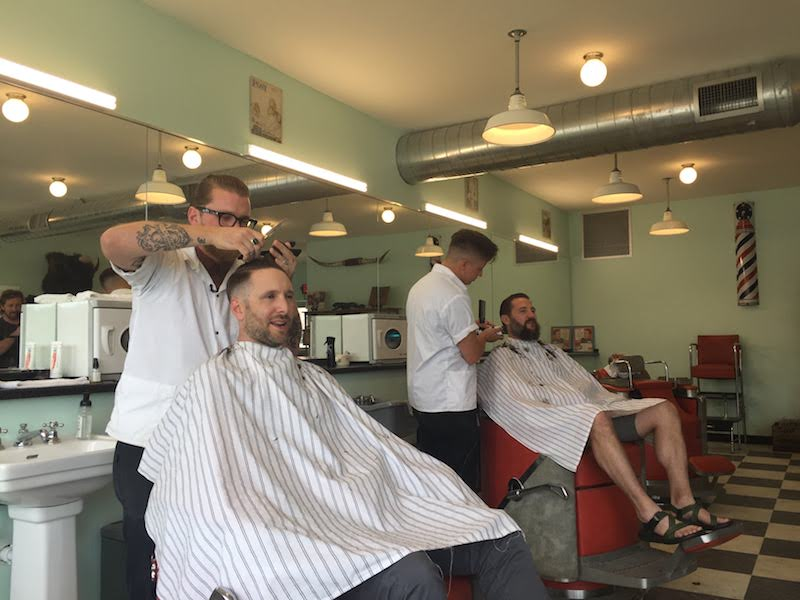Haircuts at Baraboo Social Club
